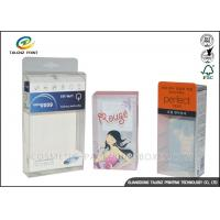 Custom PVC/PET/PP  Electronic products Packaging Clear Transparent .25mm - 0.6mm Thickness Plastic Boxes Manufactures