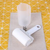 White Sticky Lint Roller, Paper Used, Efficient Dust / Hair / Fuzz Remover Manufactures