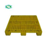 Buy cheap Static 4 Ton Plastic Export Pallets Mesh Form Top Surface Dimensional Stable from wholesalers
