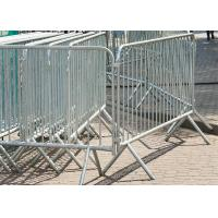 Hot Dipped Galvanized Crowd Control Barriers For Sale ,Availalbe any Size Customized Manufactures