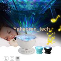 China new products ocean projection led lighting Portable Wireless led night light on sale