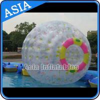 Clear PVC / TPU Inflatable Zorb Ball with 3m Outer Diameter For Adults for sale