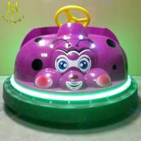 Hansel coin operated type minni bumper car amusement park toys with led light Manufactures