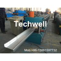 Hydraulic Plate Rolling 4KW Main Power Z Purlin Roll Forming Machine Manufactures