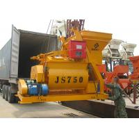 Heavy Duty Concrete Cement Mixer Horizontal Twin Shaft For Block Making Machine Manufactures
