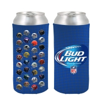 Waterproof Neoprene Coozies For 24 Oz Skinny Can Manufactures