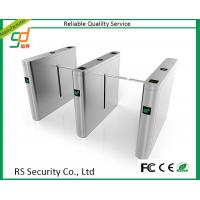 Fully Automatic Drop Arm Barrier , Remote Control Boom Turnstile Gate Bridge Type Manufactures
