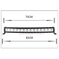 30-Inch 140W 12600lm Single Row Cree LED Car Light Bar Curved Offroad 4WD Boat UTE Driving ATV Manufactures