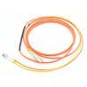 Duplex 3.0mm Mode Conditioning Patch Cord 3M LSZH Orange For Gigabit Interface Converter Manufactures