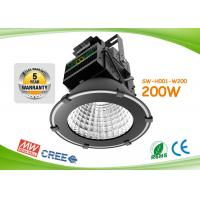 100lm / W Meanwell Driver Cree Led High Bay 200w For Public Lighting Manufactures