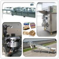 Quality Stainless Steel Cereal Bar Production Line For Muesli Making 300-400kg/Hr for sale