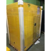 Venting Flammable Safety Cabinets , Chemical Storage Containers Double Doors Manufactures