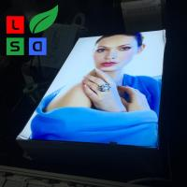 Quality Advertising Light Box Display Big Single Side Fabric Light Box for sale