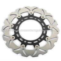 DR 650 Wave Motorcycle Brake Disc Set CNC Aluminum Alloy 6061 And Stainless Steel Manufactures