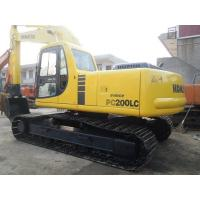 Japan Second Hand Excavator Komatsu Pc200 - 6 4562 Hours With No Big Repair Manufactures