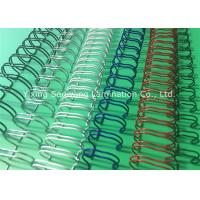 Books Custom Colorful Double Loop Wire O Binding Spirals 3 1 Pitch Manufactures