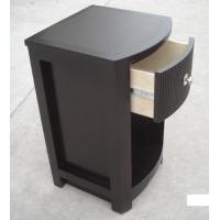 Buy cheap MDF Board Bedroom Furniture Bedside Tables , Side Mounted Tall Night Stand from wholesalers