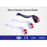 Medical Skin Care Fine Titanium Micro Needling Derma Roller For Acne Scars Manufactures