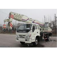 China manufacturer small wheel crane truck mounted crane with telescopic GNQY-C10 Manufactures