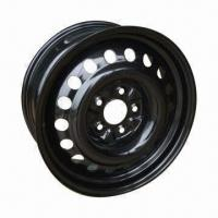 Black Steel Rims for Snow Tires Manufactures