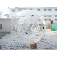 Attractive Inflatable zorbing ball For Party / Wlub Park / Square , Large Inflatable Beach Balls Manufactures