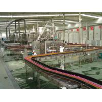 High Speed Fruit Juice Production Line Low Labour Intensity Easy Operation Manufactures