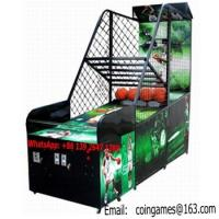 China Amusement Park Equipment Arcade Coin Operated Street Basketball Games Machines on sale