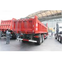 8x4 25-30M3 12 Wheel Dump Truck 50-60T Load Capaicty Sinotruk Howo7 Model 371hp Manufactures