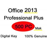 Laptop PC Microsoft Office 2013 Key Code , 500PC Office 2013 Pro Plus Product Key Manufactures