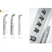 Quality Multi Function Stainless Steel Shower Panels For Bathrooms / Country Clubs for sale