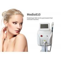 10 Bars 808nm Diode Laser Hair Removal Machine With Copper Heat Radiation System Manufactures