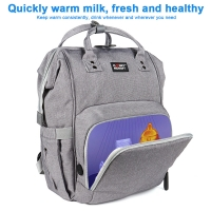 Customized L26*D19*H43 cm LED Light UV Disinfection Diaper Bag Manufactures