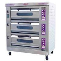 Luxury Commercial Pizza Oven With Microcomputer Control 3 Layer 6 Trays Manufactures