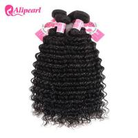 3 Pcs Brazilian Human Hair Bundles Deep Wave , Brazilian Remy Hair Extensions Manufactures