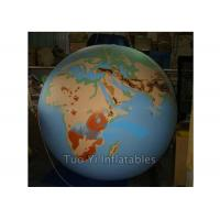 Quality Attractive Inflatable Earth Globe Balloons Customized Different Colors Design for sale