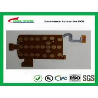 Multilayer PCB Manufacturing Process FPC Board Flexible PCB Immersion Gold Yellow Manufactures
