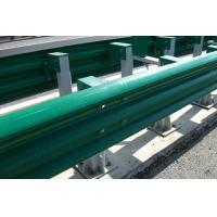 Buy cheap PVC Coating Thrie Beam Highway Guardrail Systems For Traffic Road Protection from wholesalers