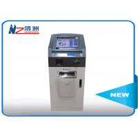 Self service payment ATM credit card wall mount kiosk with desktop visitor management Manufactures