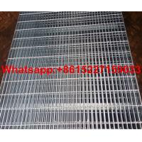 Hot dipped galvanized welded steel grating Manufactures