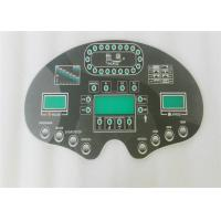 Quality Embossed Electrical Panel Label With 3M Waterproofing Keypad Membrane Switches for sale