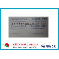70% Isopropyl Alcohol Pads / Medical WetWipes 12Kg Per Carton Manufactures