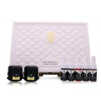 Quality TEWENNIE Brand Eyebrow Pigment Ink Set Box For Semi Permanent Eyeline Lip Makeup for sale
