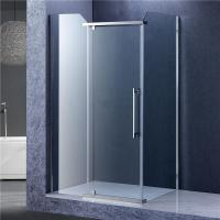 Bathroom Rectangular Shower Enclosure , 3 Panels Glass Shower Cubicles Manufactures