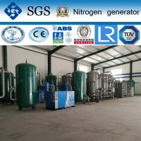 High Purity N2 Psa Nitrogen Gas Plant For Metal Cutting / Welding Manufactures