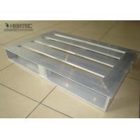 Anodized Light Weight Slatted Aluminum Pallets Used For Ware House Manufactures
