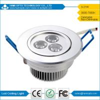 3W LED Downlight with Drive Ceiling led lamp replace traditional panel light CE RoHS Manufactures