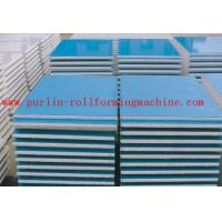 Automatic EPS and Rock Wool Sandwich Panel Roll Forming Machine High Speed and Durable Manufactures