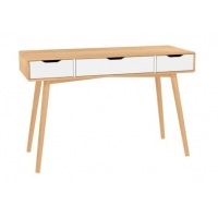 40KG Height 76cm Bamboo Writing Desk With PVC Veneer Manufactures