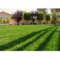 Durable Outdoor Fake Grass / Artificial Turf Carpet For Balcony And Yards Manufactures
