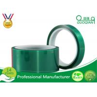 Green Insulated Electrical Tapes 200C No Printing For Paint Masking Manufactures